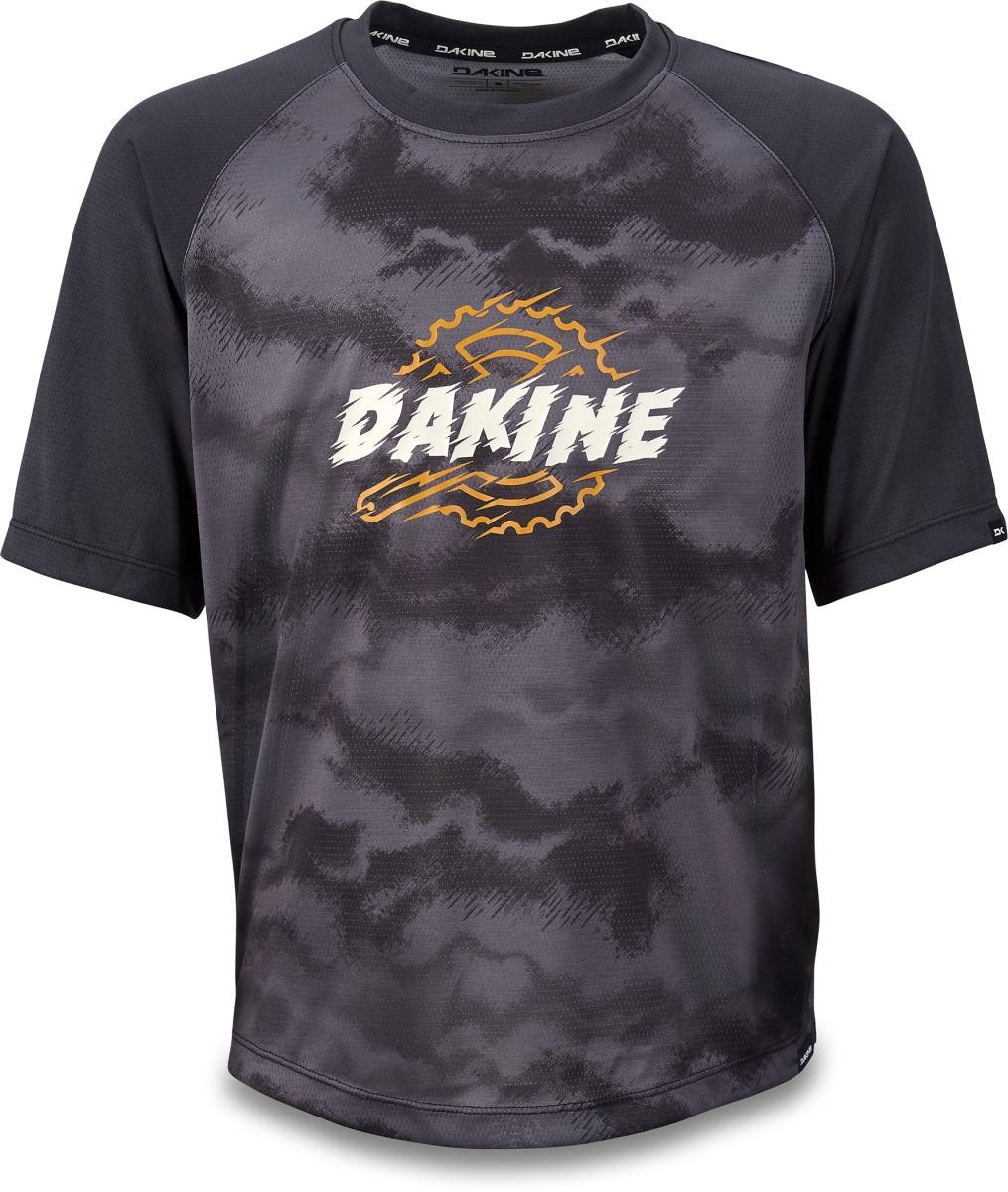 Dakine Prodigy Jersey in Black and Dark Ashcroft